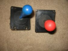 2  RED & BLUE JOYSTICKS FOR ARCADE VIDEO GAMES,CRANE MACHINES AND MORE