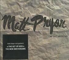 Matt Pryor - Wrist Slitter ( CD 2014 ) NEW / SEALED Get Up Kids / New Amsterdams