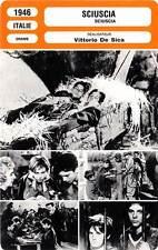 FICHE CINEMA : SCIUSCIA - Interlenghi,Smordoni,De Sica 1946 Shoeshine