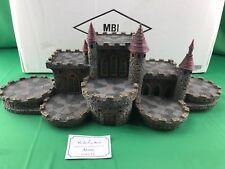 Danbury Mint COUNCIL OF DRAGONS CASTLE & BOX