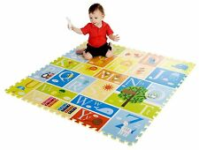 9 Piece Interactive Baby Kids Playmat Alphabet Mat