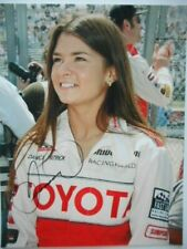 Danica Patrick signed TOYOTA Racing VINTAGE Younger Pretty INDY 8.5x11 Photo