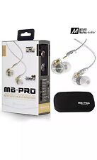 MEE Audio M6 PRO Noise-Isolating Musician's In-Ear Monitors - CLEAR