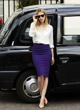 Baukjen The High Waisted Pencil Skirt Ink SZ US 6
