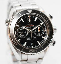 Omega Planet Ocean Seamaster CO-AXIAL Ref. 232.30.46.51.01.001 Stahl Uhr