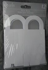 White Favor Boxes *New* Gift Boxes ~ Party Supplies ~ Party Favors 3 in. x 3 in.