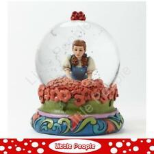 Jim Shore Dorothy in Poppy Field Waterball Figurine Disney Traditions