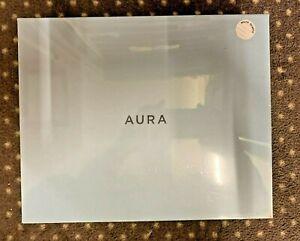 "Aura Frames 9"" Mason Digital Photo Frame, White #AF200-WHT New Sealed Retail Box"