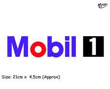 MOBIL 1 ONE Reflective Sticker  Decal Blue Sticker Best Gifts-