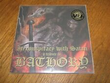 """V/A """"A TRIBUTE TO BATHORY"""" 2 X LP  nifelheim marduk satyricon"""