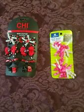 New listing Chi For Dogs. Bow & Clip Set & Top Paw Pink Hair Bows! Nwt