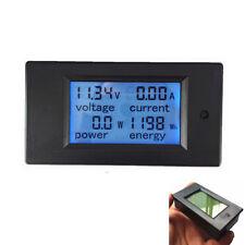 Digital Voltmeter Amperemeter Spannungsmesser Power Watt Meter DC 6.5-100V 100A