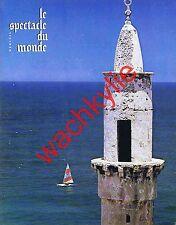 Le spectacle du monde n°148 du 07/1974 Israël Pologne Barbey d'Aurevilly Cannes