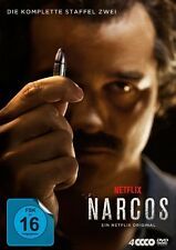 NARCOS-STAFFEL 2 DVD - MOURA,WAGNER/PASCAL,PERDO/HOLBROOK,BOYD/+  4 DVD NEU