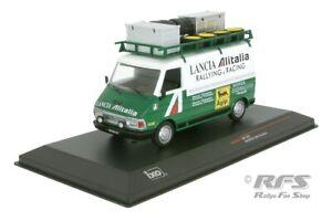Fiat 242 Alitalia Lancia Rally Munari Waldegard Rallye Service 1976 1:43 IXO NEU