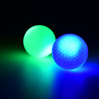 Light-up Color Flashing Glowing LED Electronic Golf Ball For Night GolfingGiftSK