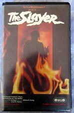 THE SLAYER VIPCO PRE CERT BIG BOX EX RENTAL VHS PAL DPP72 VIDEO NASTY UNCUT
