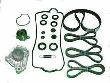 Timing Belt WATER PUMP TENSIONER SEAL Kit Honda Civic CRX DX  88 89 90 91 1.5