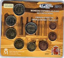 manueduc  ESPAÑA 2011 BLISTER OFICIAL FNMT  WORLD  MONEY Sólo 3.000 BERLÍN