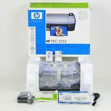 HP PSC 2355 InkJet All-in-one Printer Scan Copier Open Box
