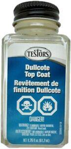 Testors 1160X Dullcote Lacquer 1-3/4 oz Clear, Flat Overcoat 075611116006