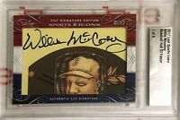2017 Leaf Sports Icons Cut Signature Edition Willie Mccovey 1/8
