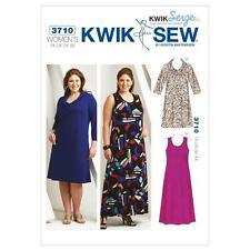 Kwik Sew cucito Modello Kwik Serge Donna Pullover Dresses dimensione 1x - 4x k3710
