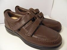 Answer 2 Brown Leather Men's Sneakers Athletic Shoes Double Strap Mens SZ 12.5 D
