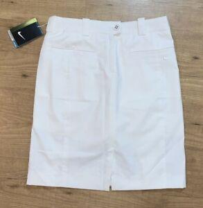 Nike Golf Tour Performance Dri-Fit Skort Skirt Womens Size 0 White #452941 NEW