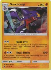 Pokemon SM6 Forbidden Light Garchomp Holo Rare Card 62/131