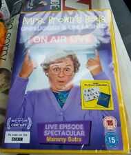 MRS.BROWNS BOYS.ON AIR LIVE.DVD.NEW AND SEALED.
