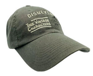 Walt Disney World True Vintage Characters Mickey Mouse 71 Ball Cap Hat Adult Med