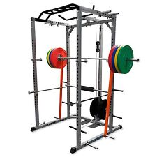SQUAT RACK MULTI PULL UP STATION POWER CAGE POWER RACK NEW VALOR FITNESS BD-33