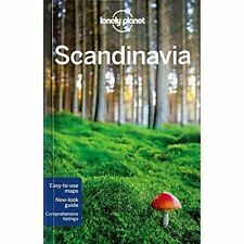 Lonely Planet Scandinavia Travel Guide Book    NEW