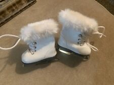 Mia 2008 American Girl Doll Retired Meet Accessories White Figure Skates ONLY