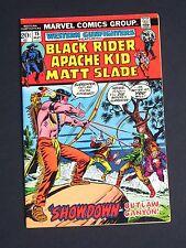 Western Gunfighter #15  1973  VF   High Grade Marvel Comic