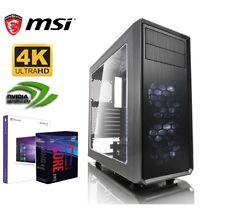 GAMER PC I7 8700 6x 4,60GHz GTX 1060 6G 16GB DDR4 500GB SSD 3TB HDD Windows 10 1