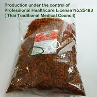 100g 100% Dried Safflower Saffron Thai Herb Tea Drinking Hygienic Packaging