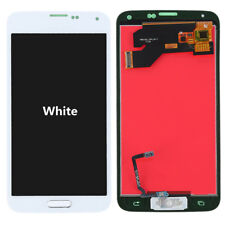 LCD Display Touch Screen Digitizer For Samsung Galaxy S5 i9600 G900 G900A Button