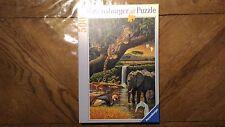 Puzzle Ravensburger « Faune Africaine - 500 Pièces » 2000 Très Bon Etat.