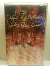 The Magic Of Christmas at Walt Disney World Vhs Fully Tested 25 Minutes 1992