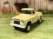1958 GMC 4x4 Lifted Custom 1/64 Diecast Truck Farm Off Road 4WD M2 Chevy Apache