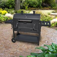 Smoke Hollow Pro Series Heavy-Duty Deluxe Charcoal Wagon BBQ Grill
