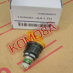 16600-AA170 4x flow match Fuel Injector for Subaru Forester Impreza Legacy 2.5L