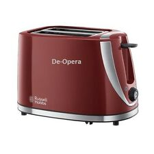 Russell Hobbs Mode 2-Slice Toaster With Defrost   21411 - Red
