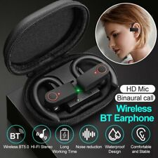 New listing Tws True Wireless Stereo Bluetooth 5.0 Earbuds Earphone Ear Hook Headset Sports