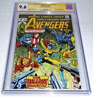 Avengers #144 CGC SS Signature Autograph GEORGE PEREZ Patsy Walker Hellcat 2-Gun