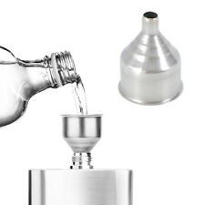 1x 2 Inch Stainless Steel Funnel Universal For Filling Small Bottles And Flasks