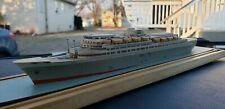 VINTAGE ROTTERDAM SHIP MODEL OCEAN LINER RICHARD WAGNER FIENSBURG GERMANY CRUISE