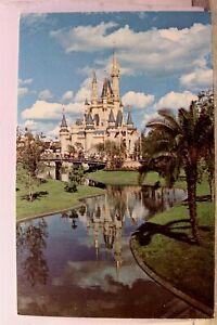 Walt Disney World Cinderella Castle Fantasyland Postcard Old Vintage Card View
